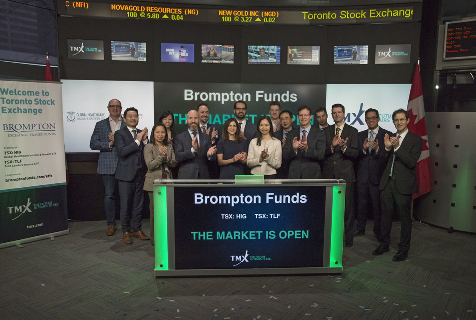 Brompton Funds Opens the Market (CNW Group/TMX Group Limited)