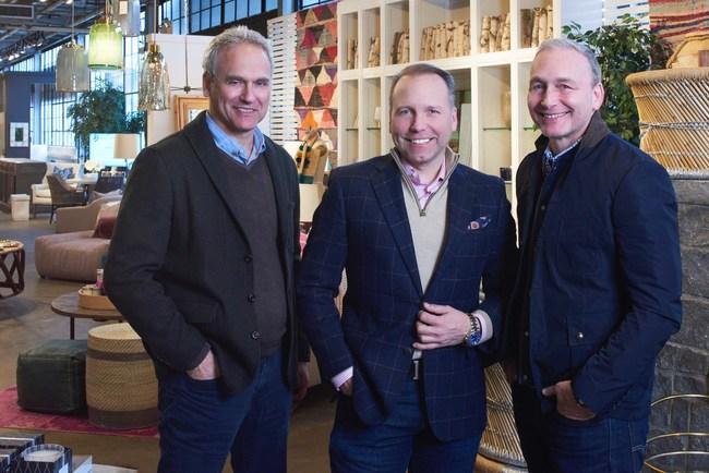 Mar Jennings, America's Top Lifestyle Expert, announces partnership alongside Lillian August President Dan Weiss and COO John Weiss.