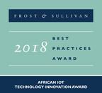 Vodacom Earns Frost & Sullivan's Technology Innovation Award for Its Narrow-band IoT Technology Deployment