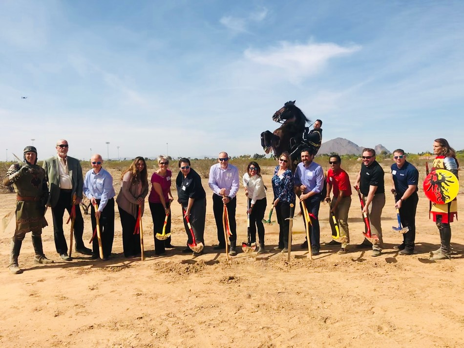 North Italia Scottsdale >> Medieval Times Breaks Ground on 10th Castle, First in Arizona