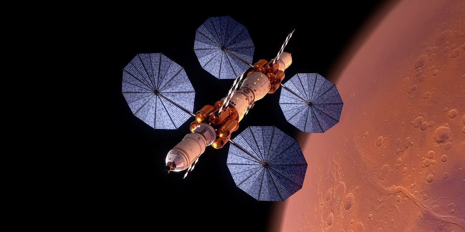 Mars Base Camp is Lockheed Martin's concept for sending humans to Mars.