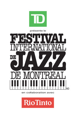 Logo : Le Festival International de Jazz de Montréal (Groupe CNW/Festival International de Jazz de Montréal)