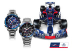 Brendon Hartley Flies in Fighter Jet to Launch New Scuderia Toro Rosso Casio EDIFICE Limited Edition Watch Range