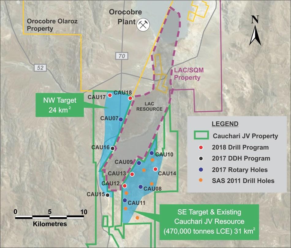 Cauchari JV Drilling and Development Update (CNW Group/Advantage Lithium Corp)