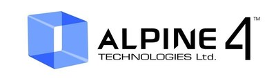 (PRNewsfoto/Alpine 4 Technologies Ltd.)