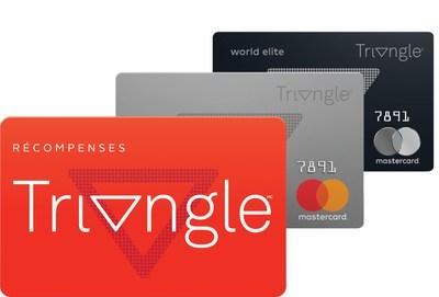Dans quelques semaines, Canadian Tire lancera Récompenses Triangle, un programme de carte de crédit et de carte de fidélité qui rassemblera plusieurs ensignes canadiennes emblématiques comme Canadian Tire, Sport Check, Mark's, Atmosphere et Gas+. (Groupe CNW/SOCIÉTÉ CANADIAN TIRE LIMITÉE)