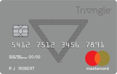 Lorsque Récompenses Triangle sera lancé ce printemps, les détenteurs de cartes Mastercard Options deviendront automatiquement membres de Récompenses Triangle et pourront toujours utiliser leurs cartes existantes. Les détenteurs d'une carte Mastercard Triangle peuvent accumuler 10x plus. (Groupe CNW/SOCIÉTÉ CANADIAN TIRE LIMITÉE)