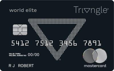 Pour la première fois, la Banque Canadian Tire offrira la prestigieuse carte World Elite Mastercard, sans frais annuels, qui donnera accès à la meilleure gamme d'avantages, comme la possibilité d'obtenir de l'Argent Canadian Tire sur l'épicerie. (Groupe CNW/SOCIÉTÉ CANADIAN TIRE LIMITÉE)