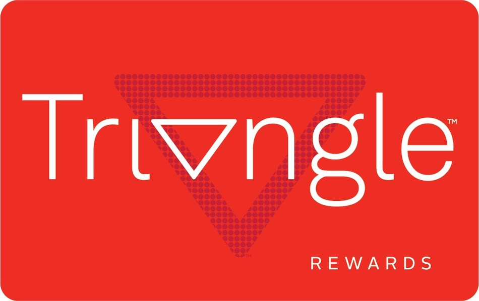 Launching later this spring, Triangle Rewards will allow members to collect Canadian Tire Money online and in-store at Canadian Tire, Sport Chek, participating Mark's and Atmosphere locations and on fuel purchases at any gas bar. (CNW Group/CANADIAN TIRE CORPORATION, LIMITED)