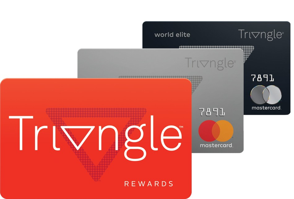 Later this spring, Canadian Tire will introduce Triangle Rewards, a free loyalty and credit card program that brings together some of Canada's most-recognized retail brands, including Canadian Tire, Sport Chek, Mark's, Atmosphere and Gas+. (CNW Group/CANADIAN TIRE CORPORATION, LIMITED)