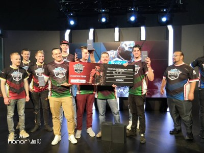 Team R.E.D from Italy won the final competition