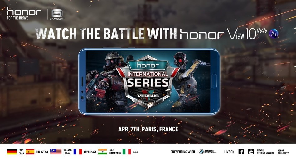 Honor and Gameloft hold