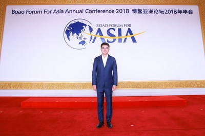 Dong Qi, CEO of FINUP FINTECH GROUP, Arrives in Boao, Hainan and is Interviewed by CGTN