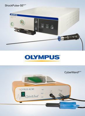 Olympus Announces Intention to Acquire Lithotripsy Systems from Cybersonics, Inc., underscoring its commitment to expanding U.S. manufacturing and enhancing treatment of stone disease.  Olympus' dual action lithotripsy system ShockPulse-SE®™ and CyberWand®™, currently manufactured by Cybersonics, will now be part of Olympus' urology competence.