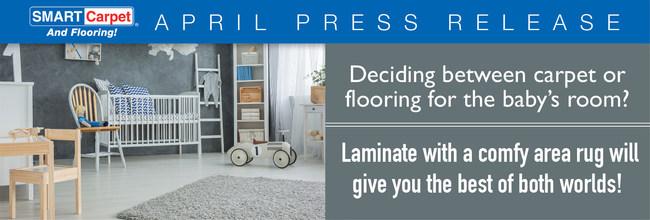 Baby on Board? Don't Miss SMART Carpet and Flooring's Nursery Flooring Picks