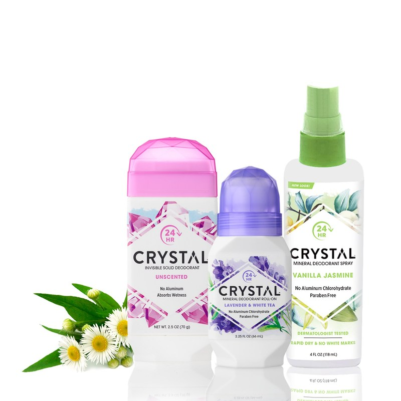 CRYSTAL Deodorants
