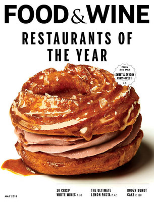 Food & Wine Restaurants of the Year May issue cover