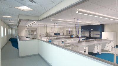 LSNE's New Lab Space located at 7 Commerce Drive