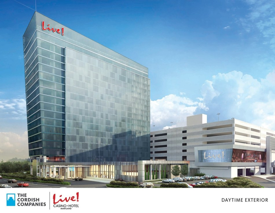 The Cordish Companies and Live! Casino & Hotel Announce Opening Date of Tuesday, May 22, 2018 for new luxury Live! Hotel Tower. World's first Live! Branded Hotel is now accepting reservations at (443) 445-2929 or online at www.LiveCasinoHotel.com