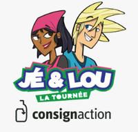 Logo : Jé&Lou CONSIGNaction (Groupe CNW/CONSIGNaction)