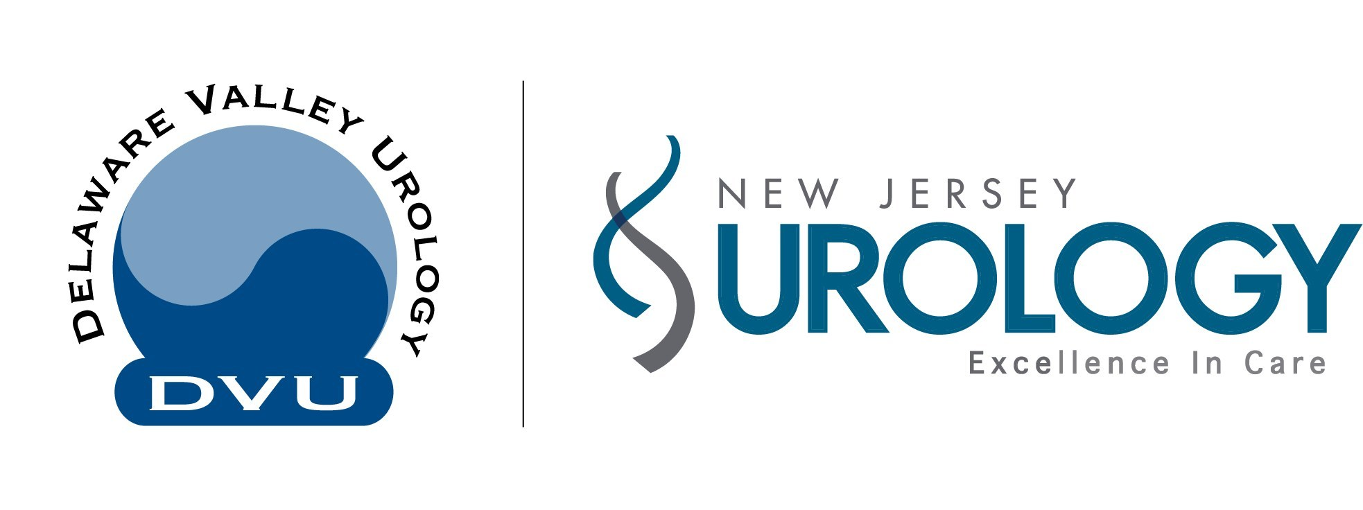 New Jersey Urology and Delaware Valley Urology Logos