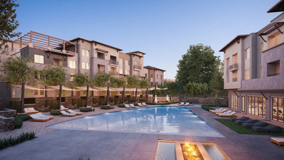 Part of a walkable master-planned community, Jefferson Vista Canyon will cater to the strong local demographics by providing top-of-the-line amenities and services.