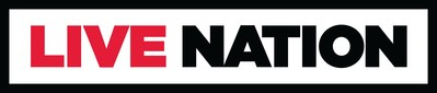 Live Nation Logo (PRNewsfoto/Caesars Entertainment)