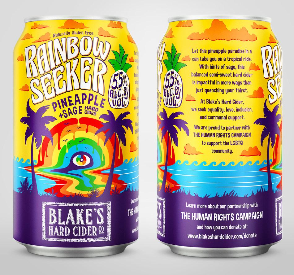 Blake's Hard Cider Co. - Rainbow Seeker