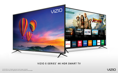 VIZIO Delivers Uncompromised Value with Launch of All-New 2018 D-Series? and E-Series? 4K HDR Smart TV Collections