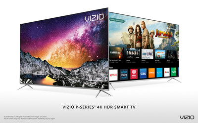 VIZIO's All-New 2018 P-Series� 4K HDR Smart TV Collection Turns Every