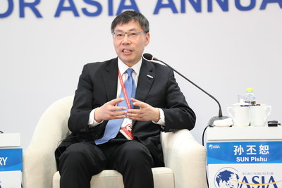 Peter Sun Talks About Next Technological Revolution at Boao Forum for Asia, Saying ABC to Change Every Area Deeply