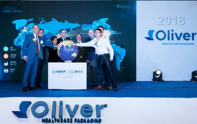 Oliver Healthcare Packaging manufacturing facility grand opening ceremony in Suzhou