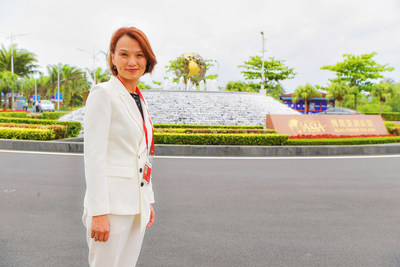 Ms. Joey Wat at Boao Forum for Asia