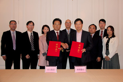 Signing of the Loan Package for Nam Tai Inno Park