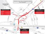 Entraves de nuit dans l'échangeur Dorval du 11 au 24 avril (Groupe CNW/Ministère des Transports, de la Mobilité durable et de l'Électrification des transports)