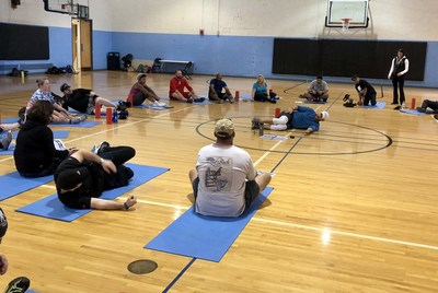 WWP's Physical Health and Wellness program clinics are designed to reduce stress, combat depression, and promote an overall healthy and active lifestyle.