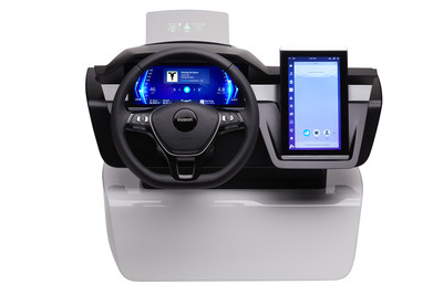 Visteon's SmartCore(tm) cockpit domain controller offers a solution to integrate the instrument cluster, infotainment system and other emerging technologies in the vehicle cockpit on a single system-on-chip.