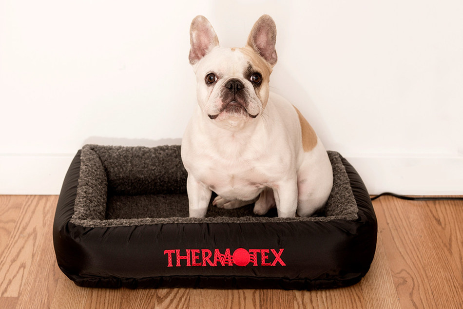 Thermotex is a family-owned and operated company, specializing in far infrared technology that helps to temporarily relieve pain, even for pets! (CNW Group/Thermotex)