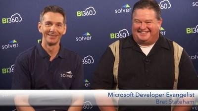 Solver CEO Nils Rasmussen with Microsoft Developer Evangelist Bret Stateham
