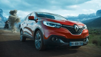 Renault KADJAR exterior in Star Wars environment (PRNewsfoto/Publicis Conseil and Renault)