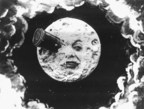 Georges Méliès's iconic moon from A Trip To The Moon (1902) (PRNewsfoto/Canal Cat Films)