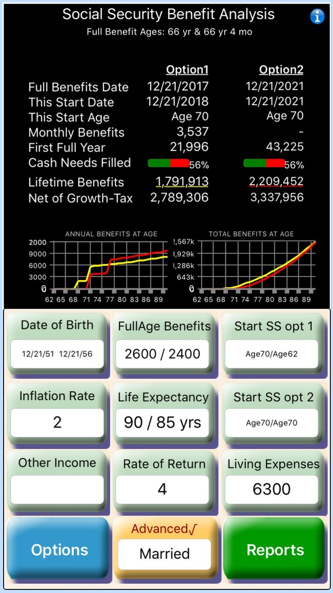 Social Security Benefit Optimizer: BOSS App
