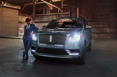 Lincoln First Listen volume six featuring NE-YO highlights the all-new 2018 Lincoln Navigator and Revel sound system. (PRNewsfoto/The Lincoln Motor Company)