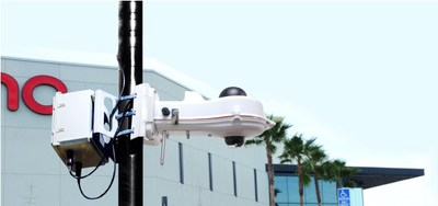 Award-winning V5 Portable Security Unit deployed in the outdoors.