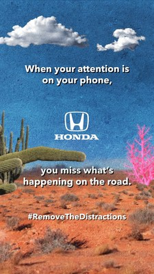"""Honda Encourages Drivers to """"Remove the Distractions"""" for Distracted Driving Awareness Month"""
