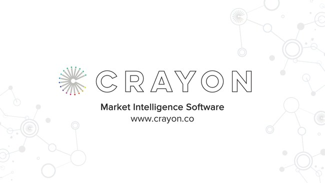 Learn more about Crayon market intelligence software at www.crayon.co