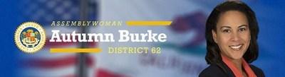 Asm. Autumn Burke Logo (PRNewsfoto/California State Assemblymember)