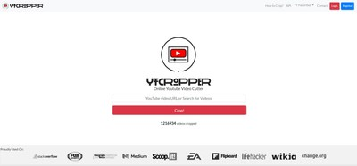 YT Cropper's popular YouTube Video Cutter