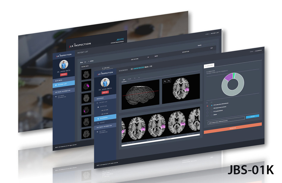 JLK Inspection recently completed clinical trials for its AI-based stroke diagnosis platform, which is designed to assist doctors in quickly classifying the cause of a stroke.