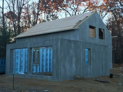 Home exterior made of Xi Walls and Prespan flooring systems from Northeast Precast. The Superior Walls products help create a dry, comfortable and energy-efficient living space.